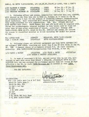 Special Order G3 (Courtesy of Gene Bielinski)