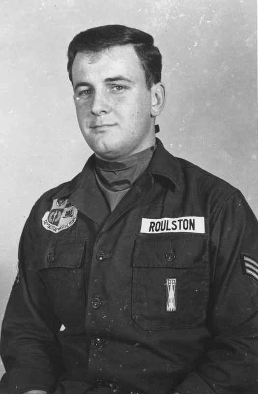 Bob Roulston (deceased - photo courtesy of Bob Bolton)