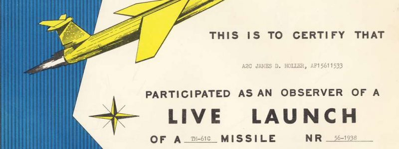 TM-61C Live Launch Certificate