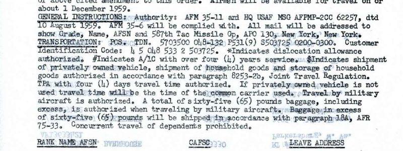 Special Order A-555 (4504th MTW / Orlando)