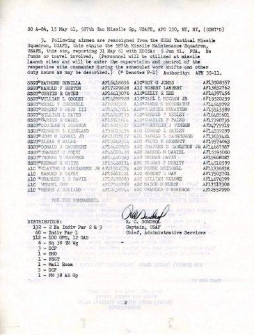 Special Order A-84 (Courtesy of Gene Bielinski)