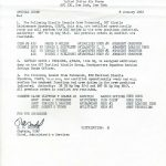 Special Order M-91 (Courtesy of Gene Bielinski)