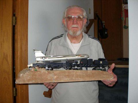Mace Model (Courtesy of Jim Mulligan - 822nd TMS)