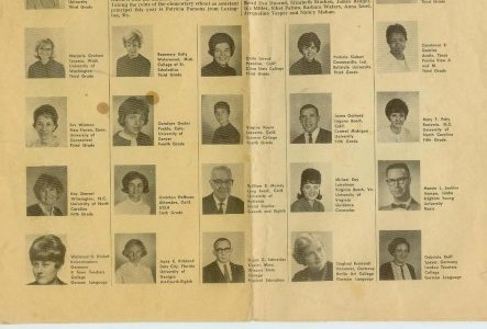 Sembach Dependent School Staff – 1966