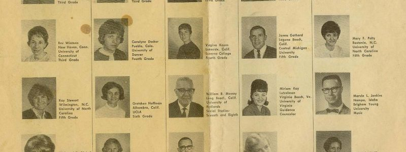 Sembach Dependent School Staff – 1966