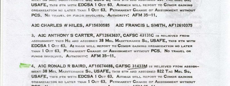 Special Order A-939 (38th TMW / HQ)