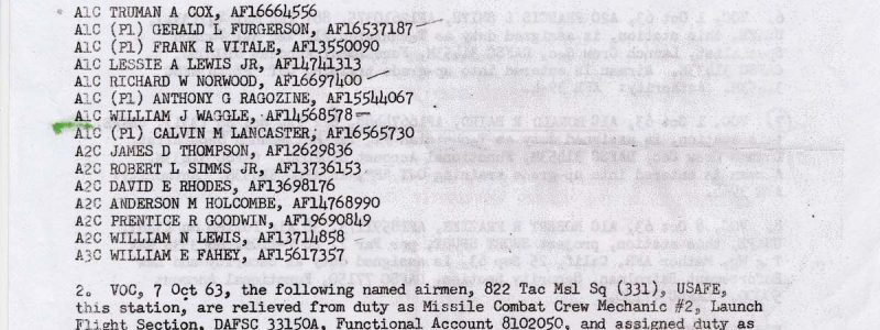 Special Order P-283 (38th TMW / HQ)