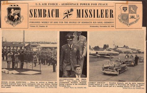 Sembach Missileer – JFK Remembered
