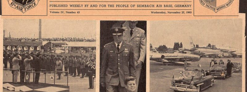 Sembach Missileer – JFK Remembered