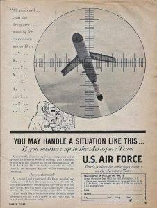 AF Recruiting Ad – 1960
