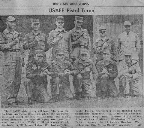USAFE Pistol Team