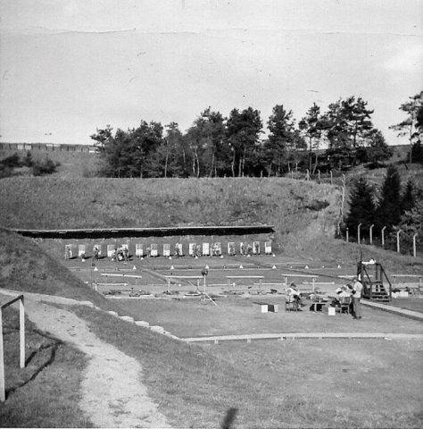 Sembach Firing Range. Circa 1960